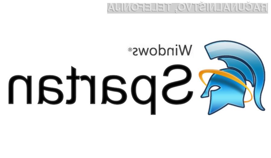 Spletni brskalnik Spartan bi lahko bil na voljo tudi za Windows 7.