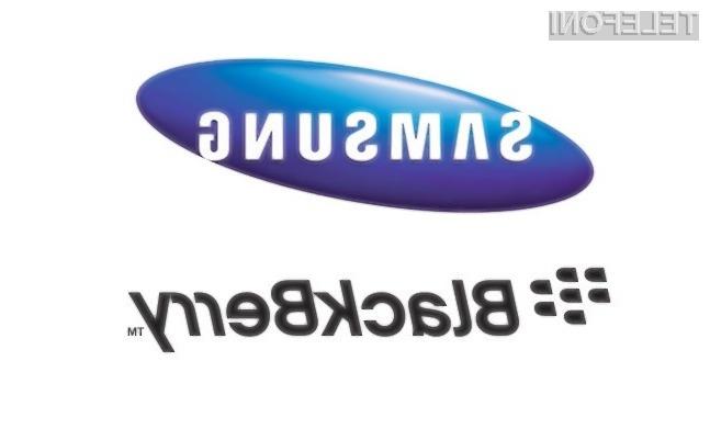 Samsung računa na to, da je podjetje BlackBerry zrelo za prevzem.