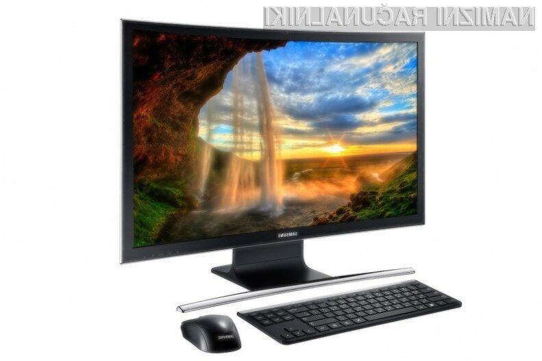 Osebni računalnik Samsung ATIV One 7 se bo na račun ukrivljenega zaslona zlahka prikupil ljubiteljem večpredstavnostnih vsebin in računalniških iger.
