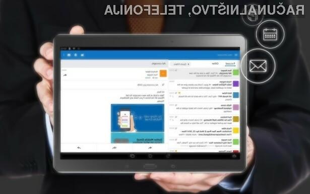 Delovanje novega mobilnega odjemalca elektronske pošte Outlook naj bi bilo nadvse zanesljivo!