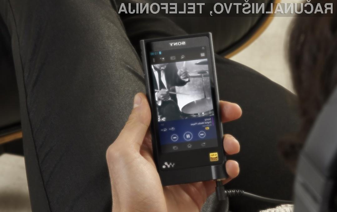 Sony ZX2 Walkman bo zlahka prepričal najzahtevnejše ljubitelje glasbe!