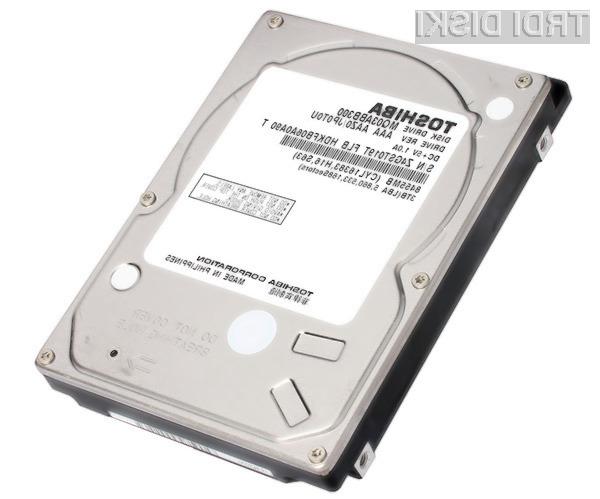 Trdi disk Toshiba MQ03ABB300 bo kot nalašč predvsem za vgradnjo v zunanje pomnilniške enote.