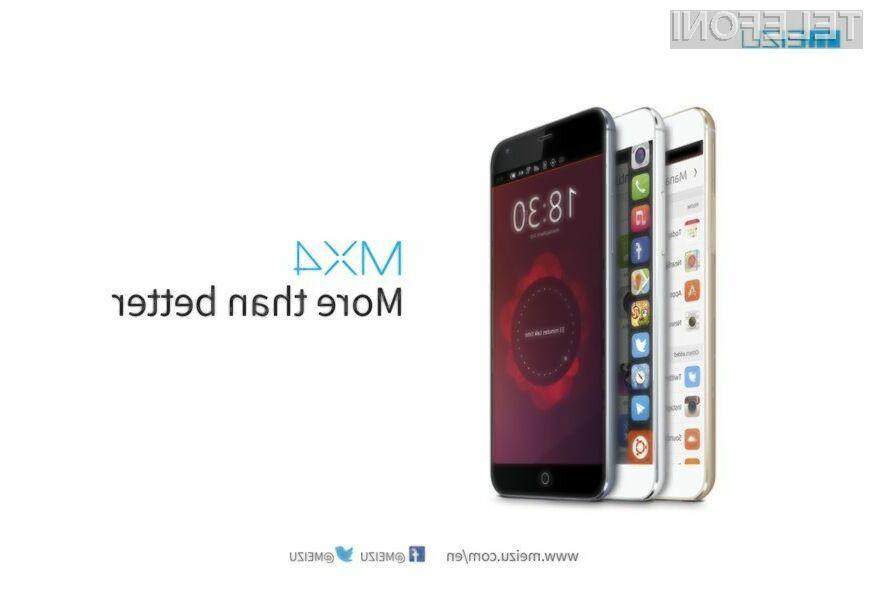 Mobilni sistem Ubuntu Phone se odlično prilega mobilniku Meizu MX4!