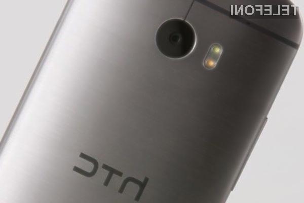 Pametni mobilni telefon HTC M8i naj bi bil naprodaj še pred pomladjo.