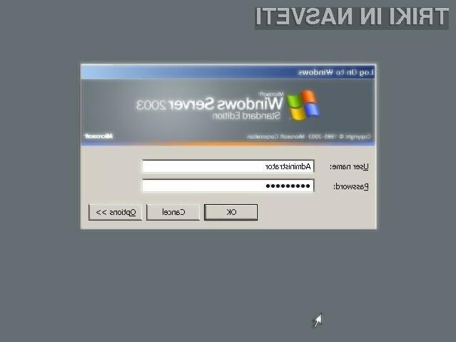 Strežniški operacijski sistem Windows Server 2003 ni več varno uporabljati!