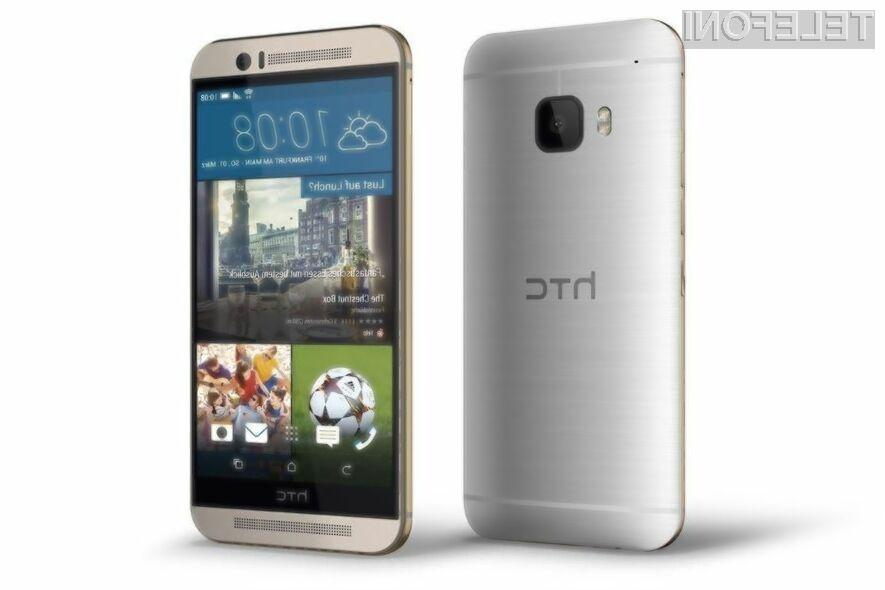 Pametni mobilni telefon HTC ONE M9 naj bi zlahka prepričal tudi najzahtevnejše!