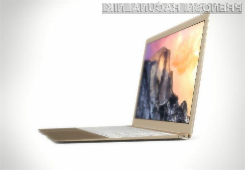 12-palčni MacBook Air z bralnikom prstnih odtisov naj bi bil naprodaj že v prvi polovici pomladi.