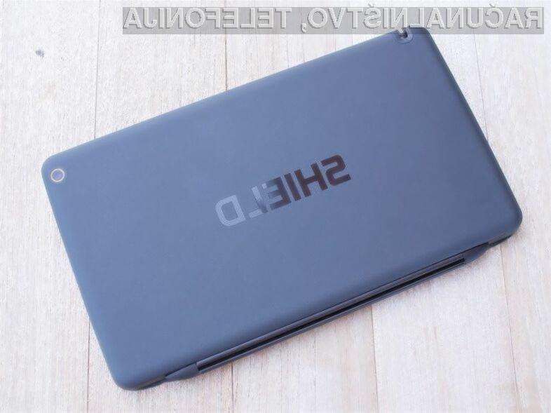Nova tablica Nvidia Shield bo zlahka prevzela lovoriko najzmogljivejše tablice na modrem planetu.