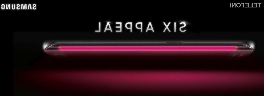 Ukrivljeni zaslon se bo odlični prilegal supermobilniku Samsung Galaxy S6!