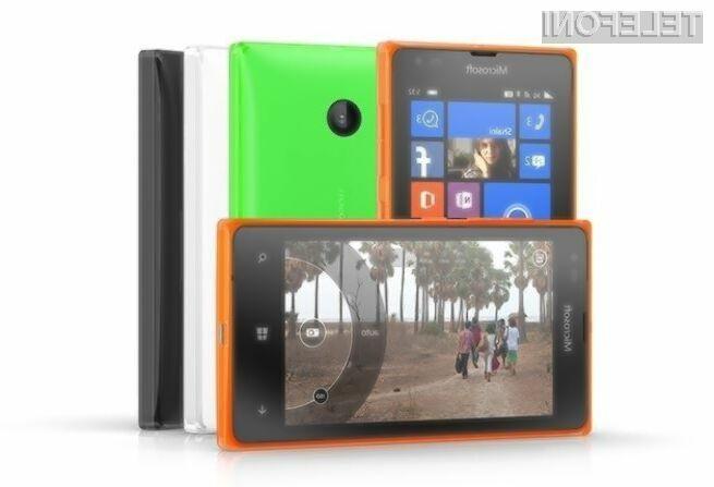 Za novi pametni mobilnik Microsoft Lumia RM-1099 naj bi bilo treba odšteti zgolj okoli 55 evrov.