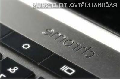 Na računalniku Google Chromebook 2-v-1 bo nameščen operacijski sistem Chrome OS, saj se odlično znajde na napravah z zasloni občutljivimi na dotik.