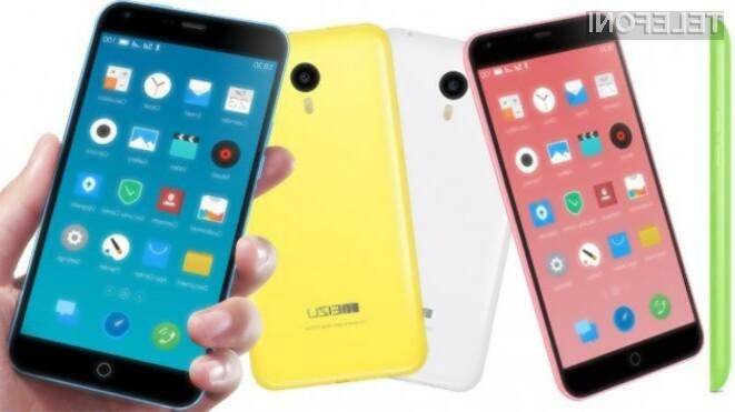 Pametni mobilni telefon Meizu M1 Note za borih 170 evrov ponuja veliko.