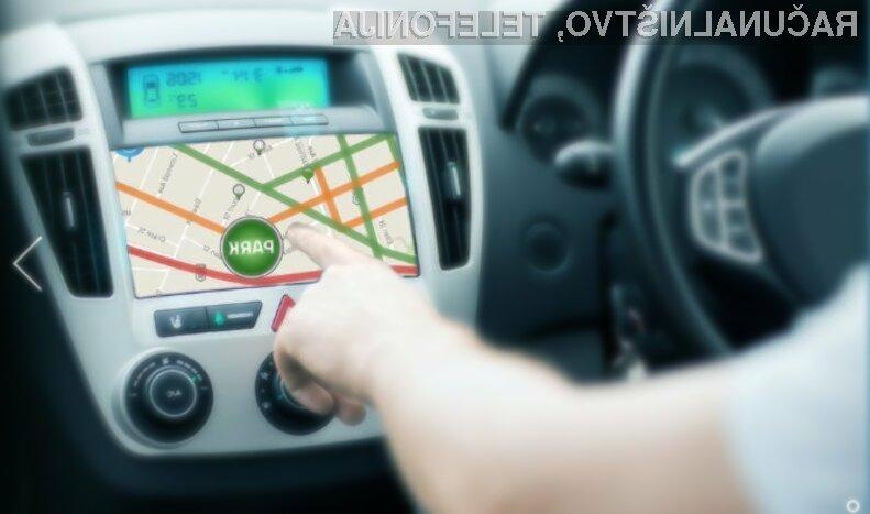 Mobilne aplikacije za iskanje prostih parkirnih mest bodo kmalu serijsko vgrajene v avtomobile.