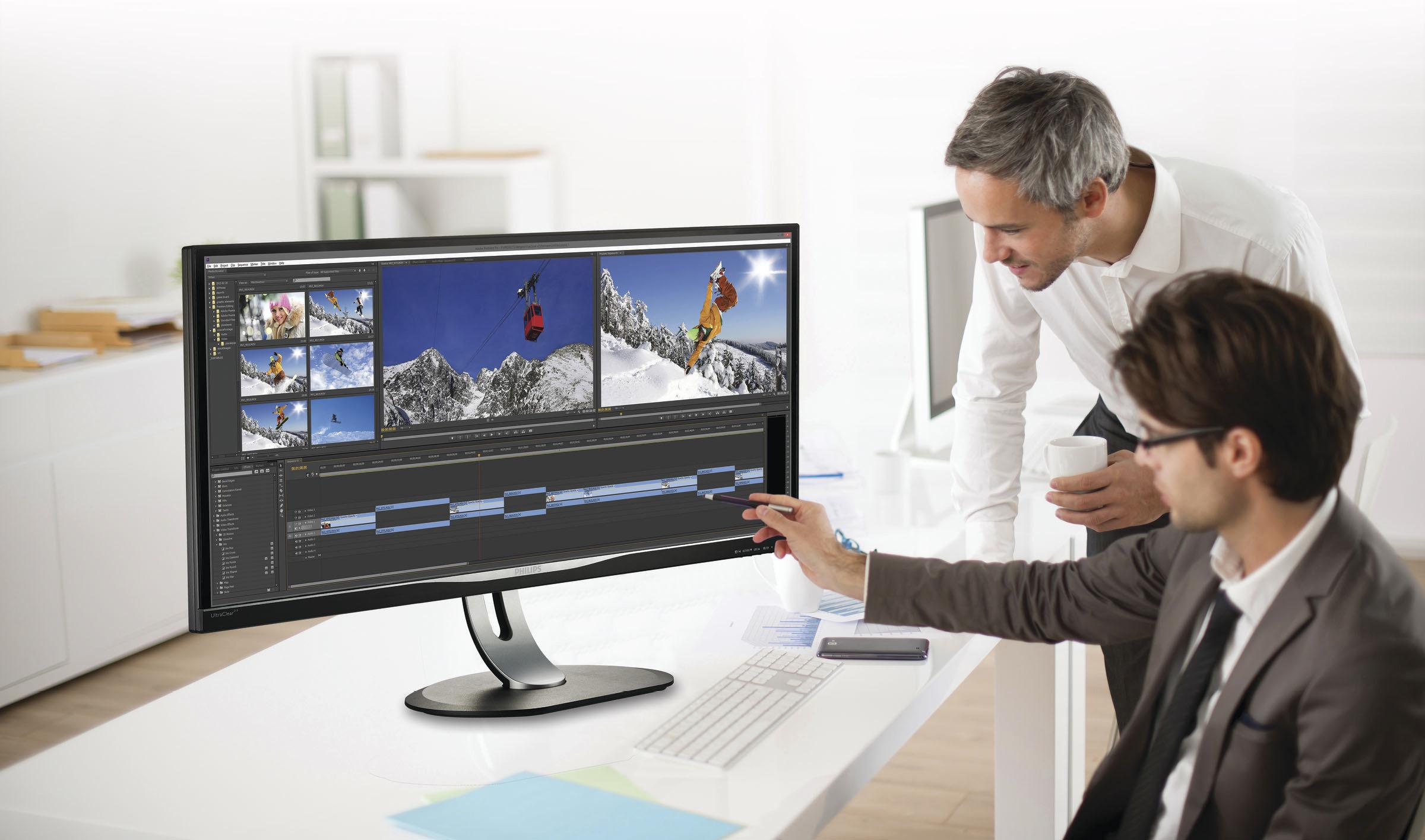 Novi 34 palčni Philipsov panoramski UltraWide zaslon BDM3470UP