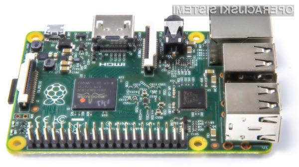Kompaktni računalniški sistem Raspberry Pi 2 bo brez težav poganjal prihajajoči operacijski sistem Windows 10!