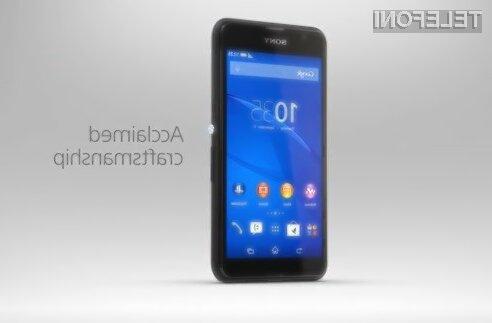 Cenovno ugodni pametni mobilni telefon Xperia E4G je primeren tudi za nekoliko zahtevnejše uporabnike!