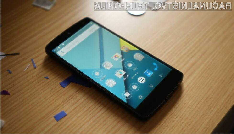 Najnovejši Android 5.0 Lollipop še vedno ni prepričal proizvajalce mobilnih naprav!