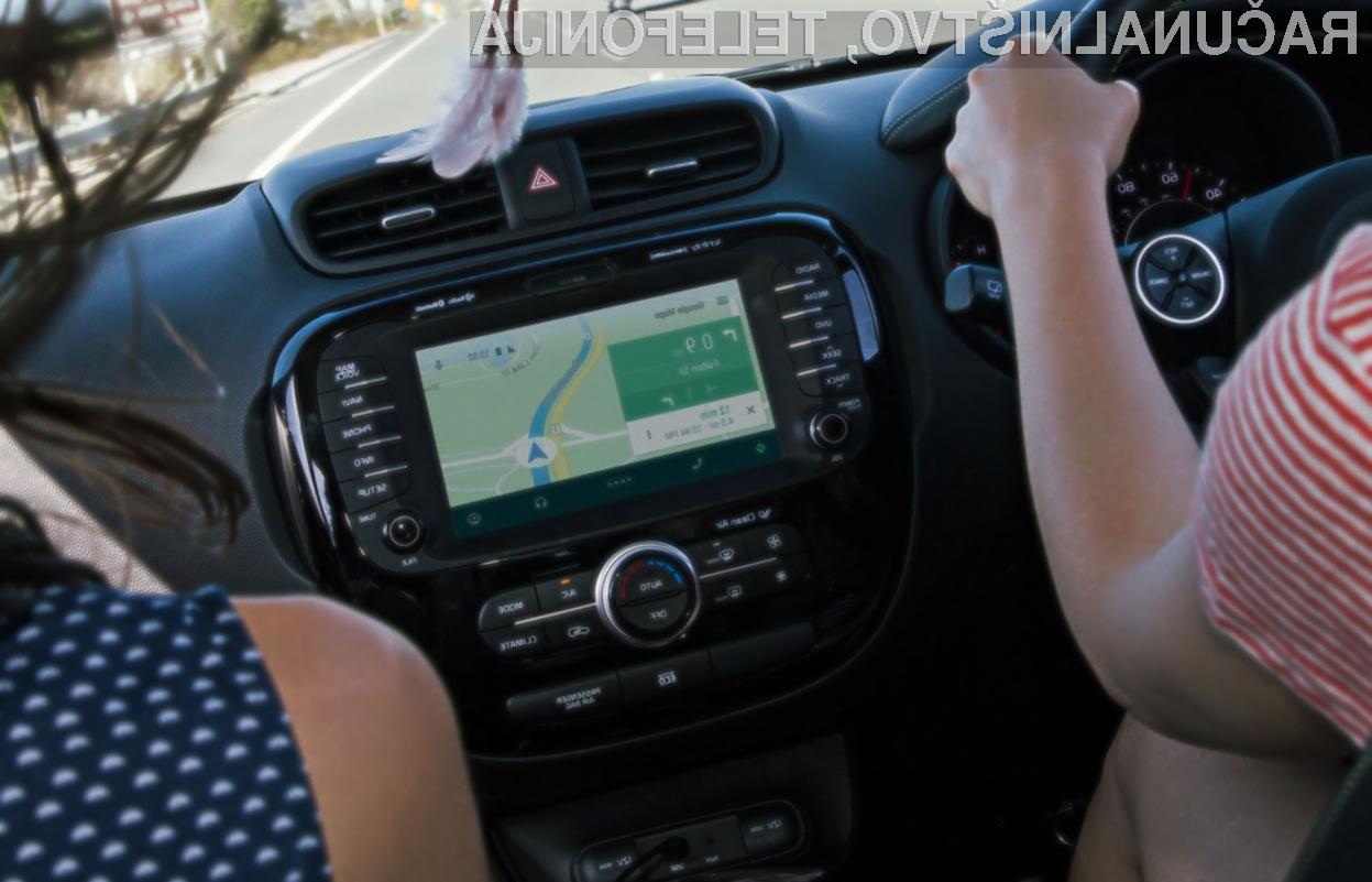 Prvi avtomobili s platformo Android Auto bodo naprodaj še pred jesenjo.