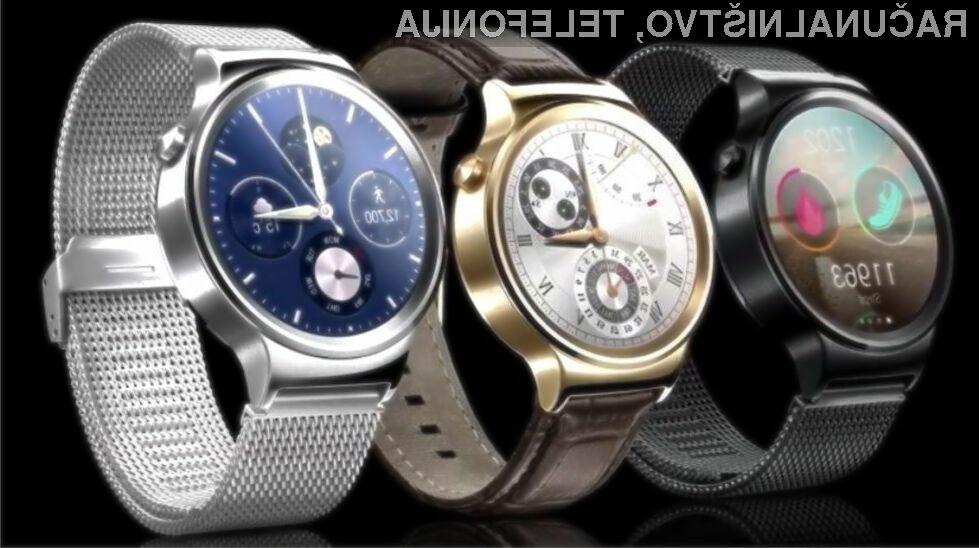 Pametna ročna Huawei Watch bo primerna za vse priložnosti.