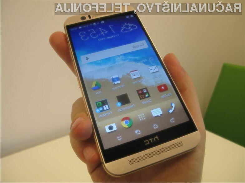 Mobilnik HTC One M9 dejansko predstavlja le nadgradnjo uspešnega modela One M8.