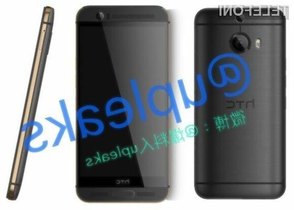 Prestižnejši pametni mobilni telefon HTC One M9 Plus naj bi luč sveta ugledal že 9. aprila.