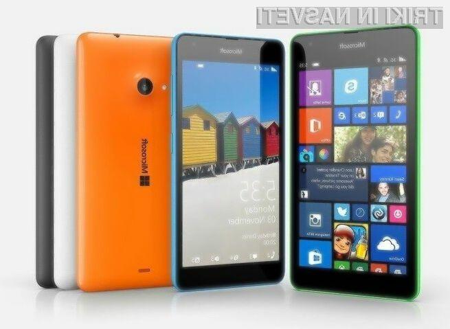 Nadgradnja Windows Phone 8.1 Update 2 naj bi bila na voljo za prenos še pred začetkom poletja.