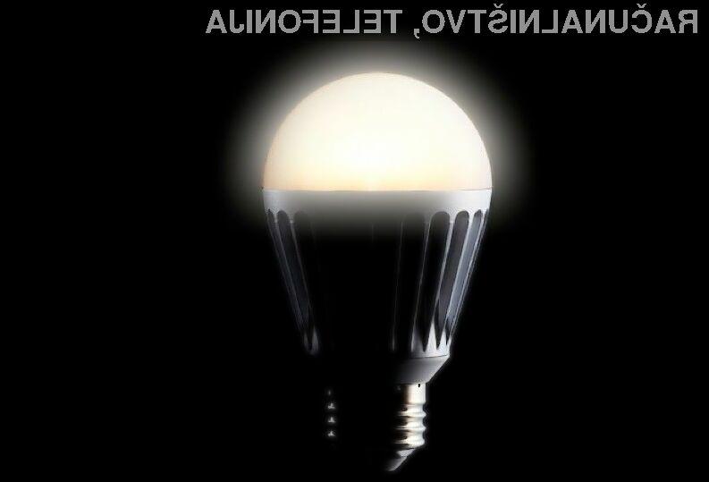 Svetilka, izdelana na osnovi grafena, je varčnejša in ima dolgo življenjsko dobo.