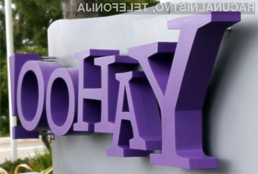 Yahoo vam lahko odslej dostopno geslo za elektronsko pošto posreduje kar preko kratkega sporočila SMS.