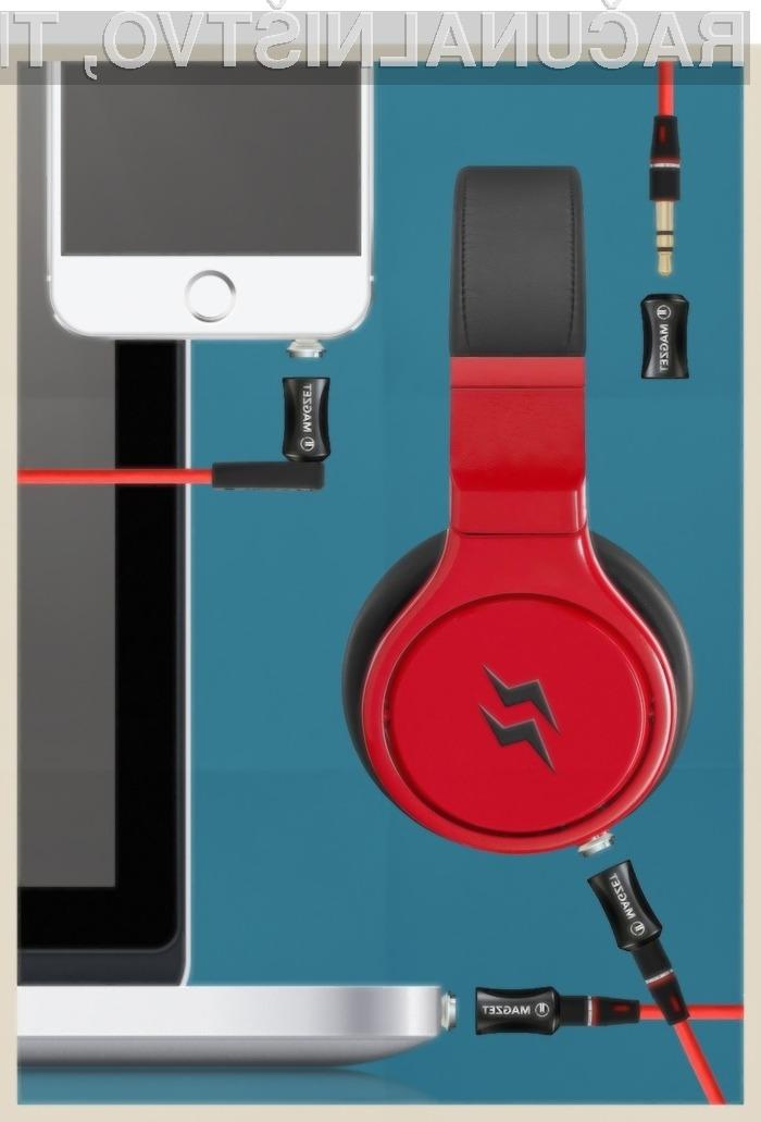 Ključna prednost magnetnega priklopa slušalk podjetja Magzeta je preprečitev poškodb slušalk ali mobilne naprave zaradi nepredvidljivih gibov.