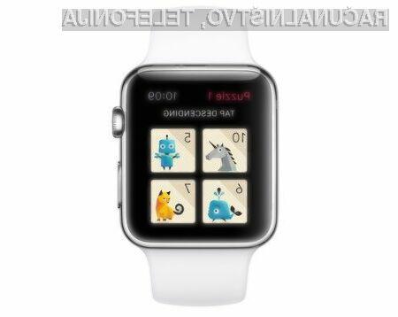 Računalniško igro »Rules!« bo brez težav mogoče igrati tudi na majhnem zaslonu Apple Watch.