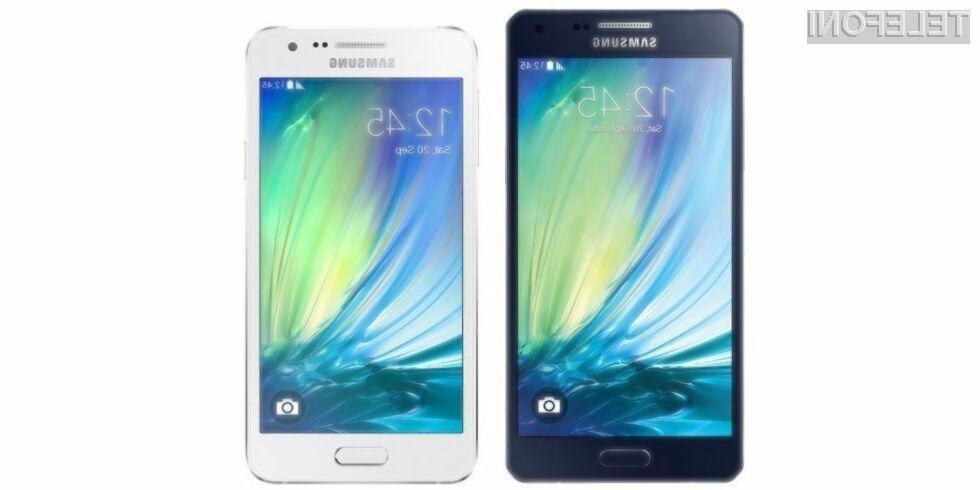 Mobilniki Samsung družine Galaxy A naj bi Android 5.0 Lollipop prejeli še pred poletjem.