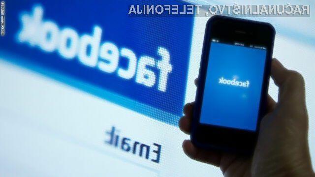 Aplikacija Facebook bo uporabnikom mobilnih naprav Android na voljo v drugi polovici leta.