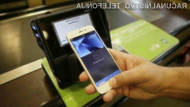 Plačilni sistem Apple Pay uporablja le še peščica uporabnikov novejših mobilnih naprav iPhone in iPad.