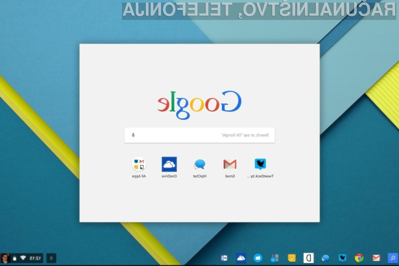 Operacijski sistem Chrome OS postaja iz dneva v dan boljši!