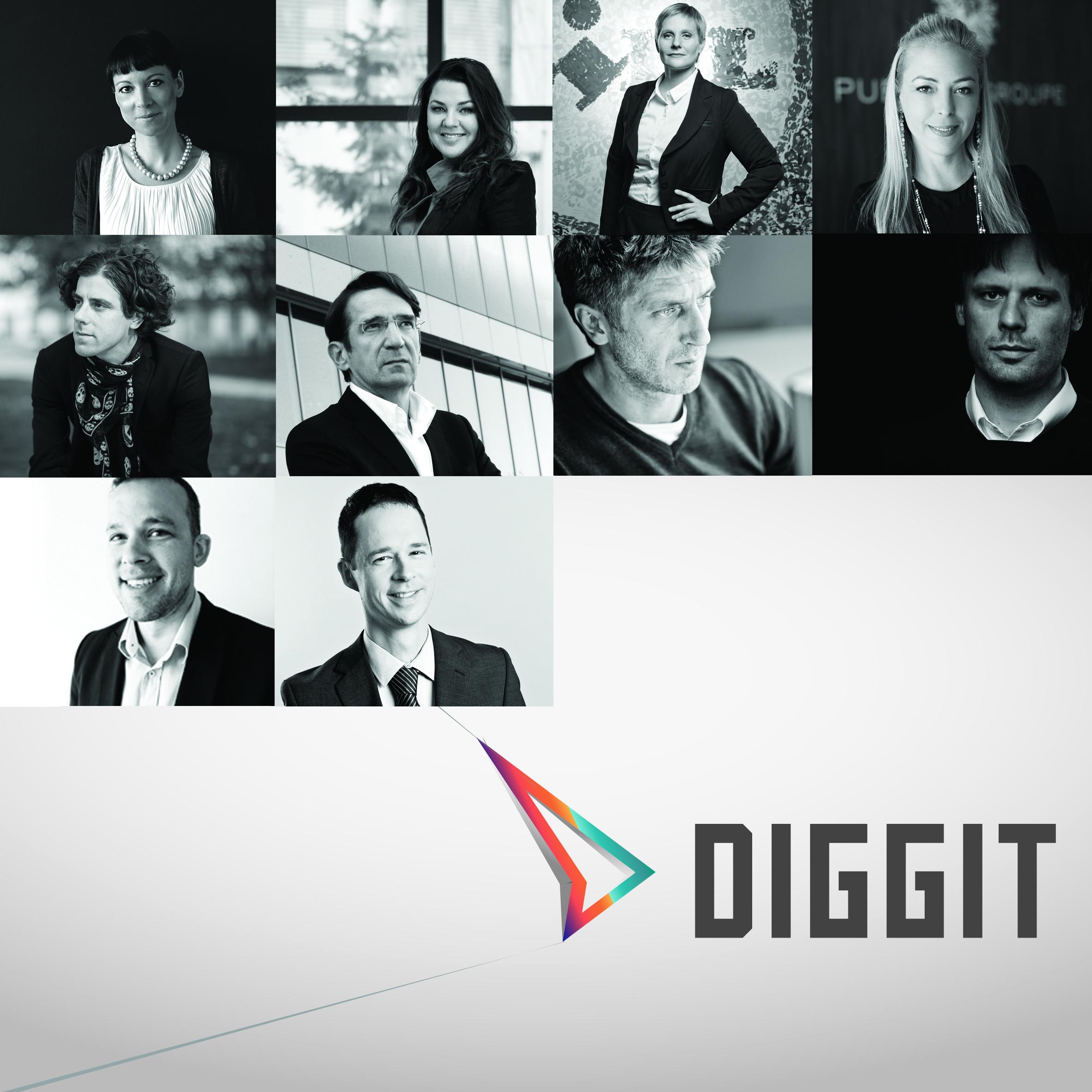 Desetčlanska žirija bo najboljše med najboljšimi prijavljenimi digitalnimi rešitvami za zlato nagrado Diggit izbirala v osemnajstih kategorijah. Dodatno bo izbrala še štiri prejemnike velike nagrade.