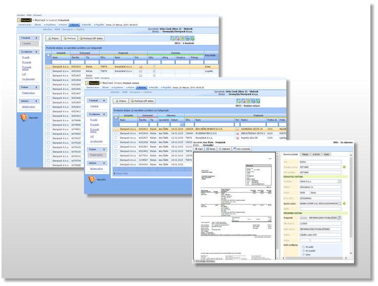 i-Računi SP: celovit nabor zmožnosti za izdajo e-računov na platromi Microsoft SharePoint.