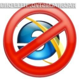 Brskalniku Internet Explorer so po vsej verjetnosti že štete ure.