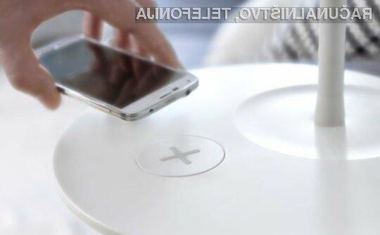 Švedsko podjetje IKEA je za sejem mobilne telefonije MWC pripravilo pohištvo, s katerim bomo lahko brezžično polnili mobilne naprave.