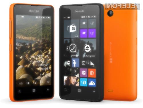 Poceni pametni mobilni telefon Microsoft Lumia 430 bo naprodaj tudi pri nas!