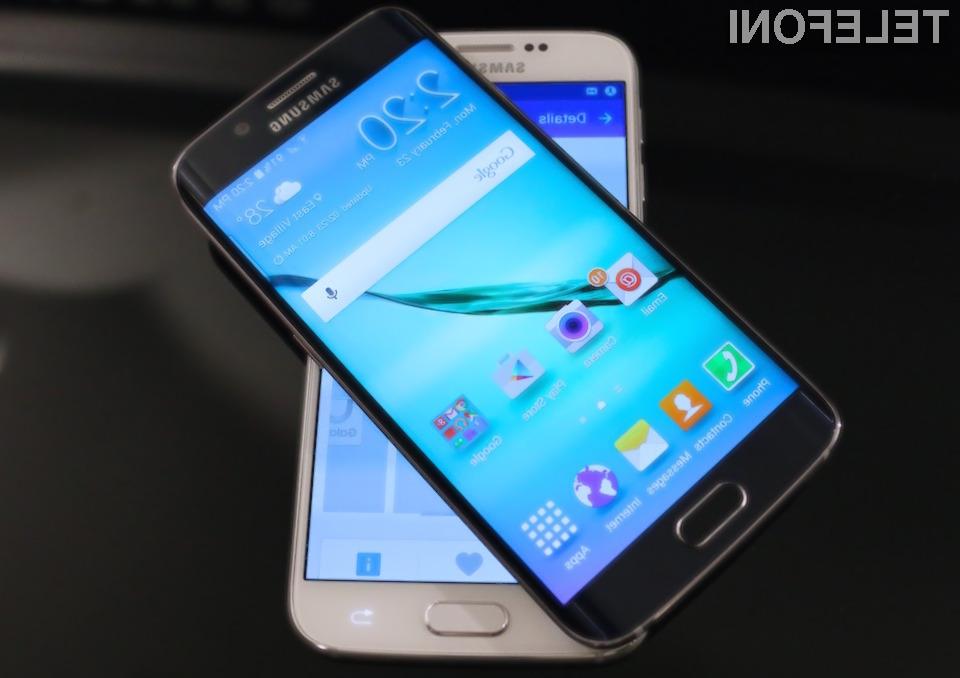 Pametna mobilna telefona Samsung Galaxy S6 in S6 Edge sta izpolnila vsa pričakovanja!