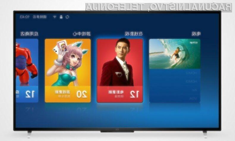 Poceni pametni televizor Xiaomi Mi TV 2 bo zlahka prepričal ljubitelje večpredstavnostnih vsebin.