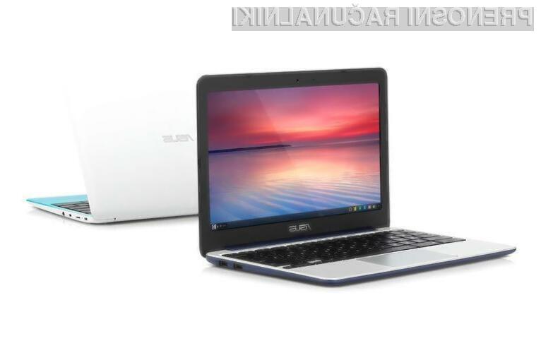 Prenosnik Asus Chromebook C201 nas kljub nizki ceni vsaj zlahka ne bo pustil na cedilu.