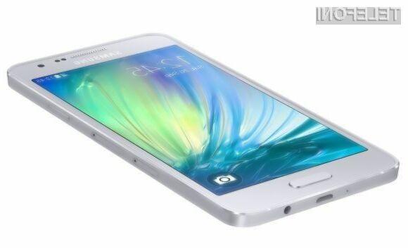 Pametni mobilni telefon Samsung Galaxy A8 naj bi bil nared za prodajo predvidoma konec letošnjega poletja.