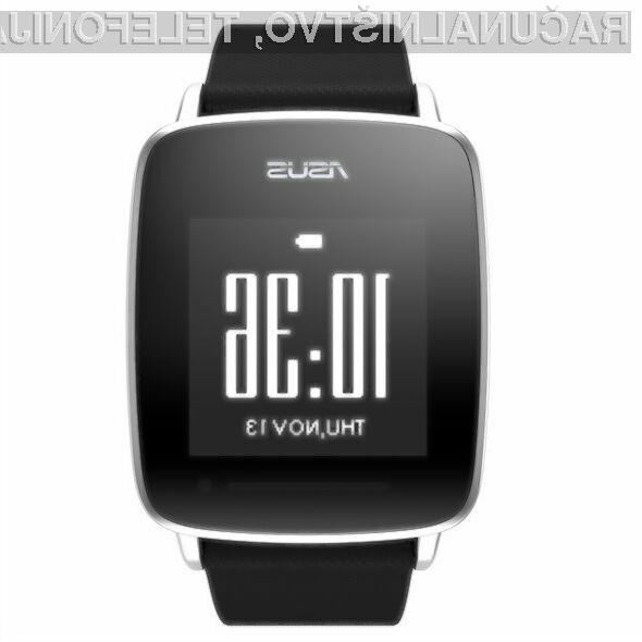 Pametna ročna ura Asus VivoWatch je kot nalašč za tiste, ki se veliko ukvarjajo s športom.