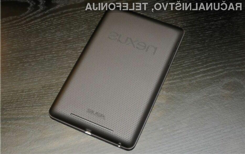 Nadgradnja na Android 5.0.x Lollipop naj bi zaradi napake lahko celo uničila tablico Nexus 7.