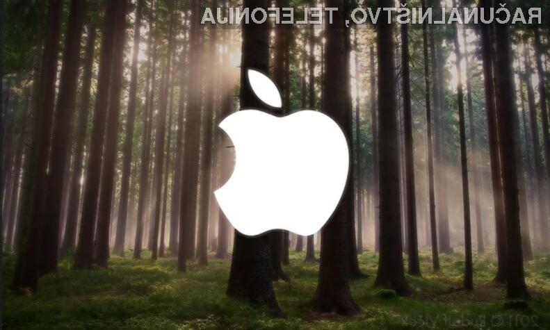 Apple bo gozdove uporabljal tudi za izdelovanje embalaže za lastne izdelke.