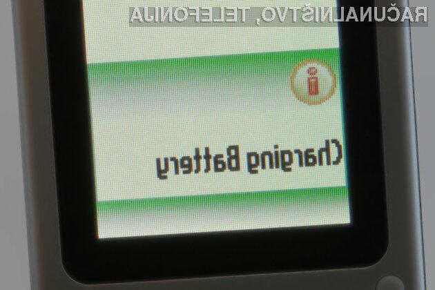 Težave z zamudnim polnjenjem baterije naj bi bile kmalu mimo.