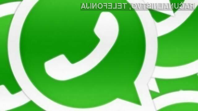 WhatsApp za iOS končno omogoča telefonske pogovore v omrežjih 3G, 4G/LTE in omrežju Wi-Fi.