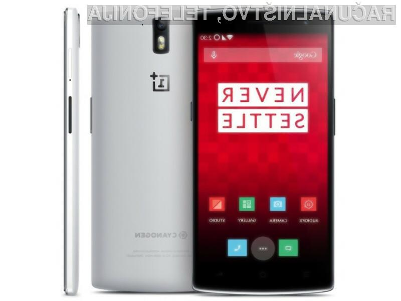Mobilnik OnePlus One je odlsej na voljo v prosti prodaji!