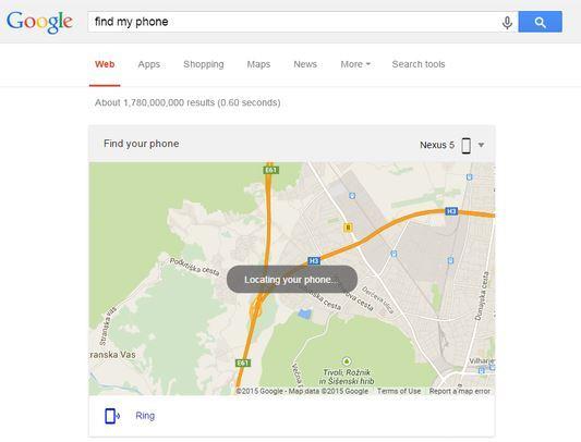Preverite lokacijo svojega Androida kar v namiznem brskalniku Google.